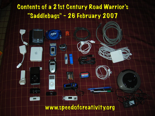 Tools of the 21st century educational road warrior