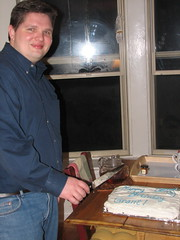 grant cutting the cake