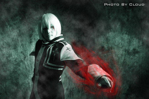 D Gray Man Allen Walker Cosplay Fotos