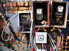 What the ??? (go2net) Tags: cables wires islamabad juryrig jerrybuilt