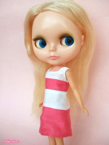 Bi-color dress by kana*.