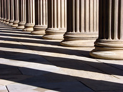 Columns of St Georges Hall (Mr Grimesdale) Tags: lines contrast liverpool shadows pillars merseyside architechure stgeorgeshall capitalofculture coloumns mrgrimsdale stevewallace capitalofculture2008 liverpoolcapitalofculture2008 europeancapitalofculture2008 15challengeswinner photofaceoffwinner liverpoolcapitalofculture pfogold mrgrimesdale grimesdale