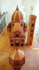 百花聖母教堂的小模型圖