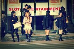 Shinjuku Girls 2 (Pat Rioux) Tags: japan tokyo shinjuku