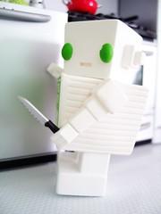 03042007_02.jpg (spicybrown) Tags: robot tofu japanesetoy vinyltoy tofurobot spicybrown kazukoshinoka junkonatsumi