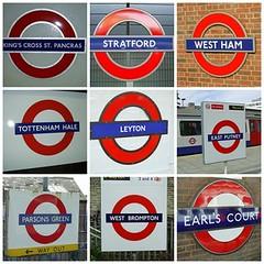 Roundel mosaic (Richard and Gill) Tags: london sign underground logo fdsflickrtoys metro mosaic transport tube londonunderground lt roundel londontransport tfl transportforlondon