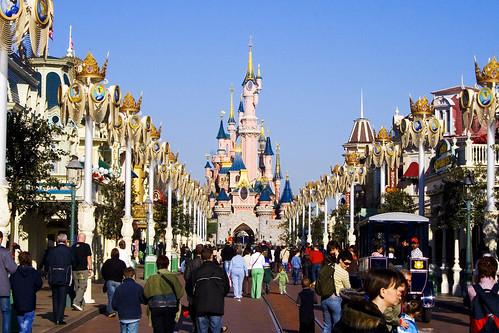 main street + castle