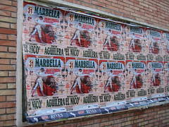 Bull Fight Posters (b-diggs) Tags: spain posters bullfight malaga