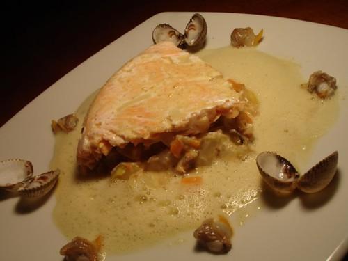 421223986 db6d1d3160 Blog appétit édition#10 Gâteau de saumon aux chicons et carottes, émulsion aux épices
