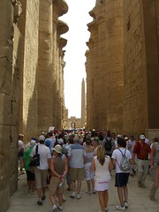 Crowds at Karnak