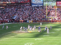 FedEx Stadium Washington Redskins vs New York Giants