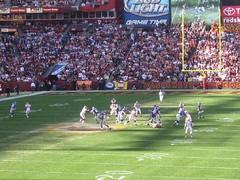 FedEx Stadium Washington Redskins vs New York Giants