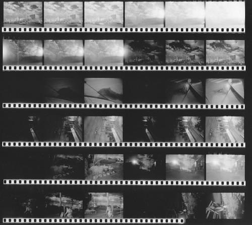Contact Sheet, IR Roll #2, version 2