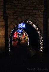 Visby, Gotland. (equaldaniel) Tags: gotland visby winter christmas lights medieval