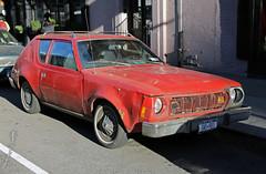 1974 AMC Gremlin (vetaturfumare - thanks for 3 MILLION views!!!) Tags: amc gremlin americanmotors compact malaise fuelcrisis manhattan nyc red dented bucklor