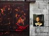 Power of art (bdira3) Tags: coceptual street wall rust art portrait beauty textured petrus christus flemish