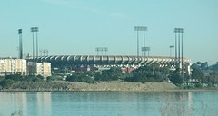 Candlestick or 3 Com Park (Saveena (AKA LHDugger)) Tags: sanfrancisco california ca city travel vacation urban water all baseball sfo stadium no lisa any h rights form written without usage reserved allowed candlestickpark consent dugger 3compark  saveena