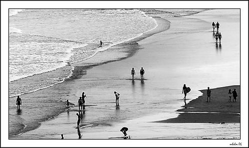la playa de julio