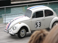 Herbie got cut in half