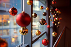 Christmas Balls (mahonyweb) Tags: christmas uk interestingness interesting bokeh sheffield favorites 2006 explore favourites canon5d top500 flickrexplore 35l magicdonkey canonllens canonef35mmf14lusm canon35mmf14 mahonyweb wwwmahonywebcom