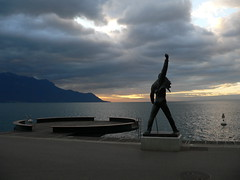 Freddie Mercury (zap358) Tags: statue switzerland mercury queen freddie showmustgoon montreux