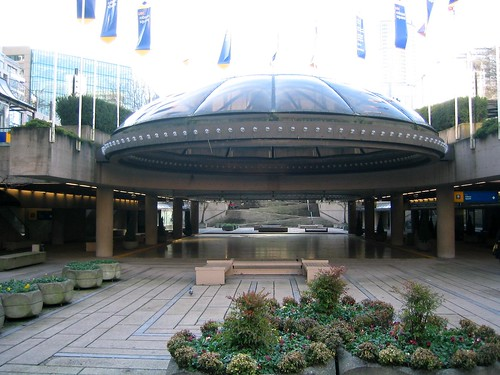 Former Site of Robson Square Ice Rink
