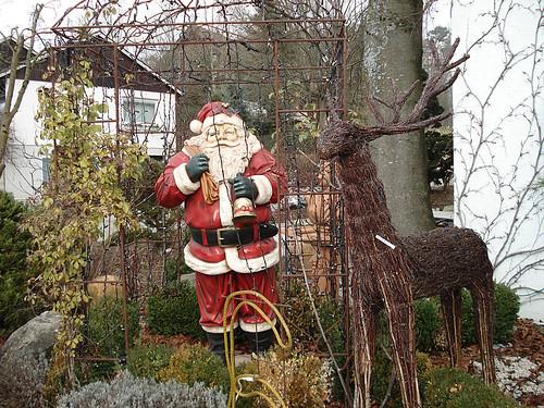 Garden Samichlaus (Santa), Switzerland