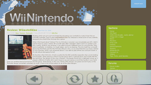 WordPress Wii Edition Plugin