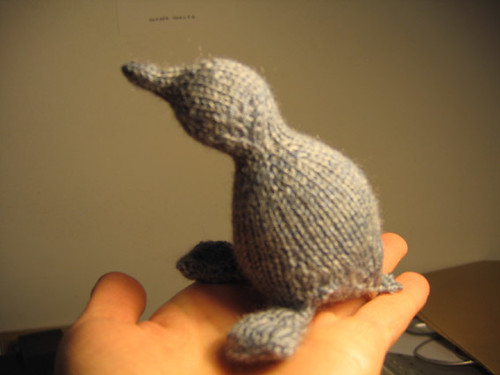 knitted toy animal