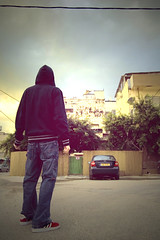tel-aviv's emotion (Lena Utro) Tags: street city art telaviv flickr cityscape faces bodylanguage surround concept conceptual bildings