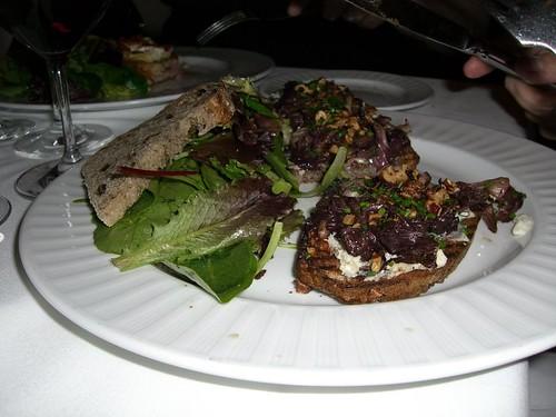 Gorgonzola dolce sandwich