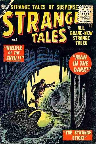 Strange tales 41