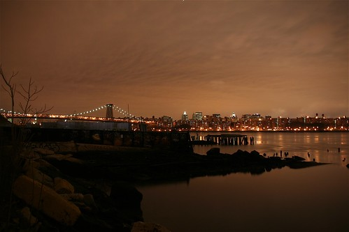 new years eve, williamsburg bridge