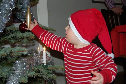 Vid julgranen