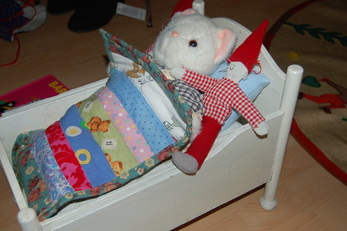 The doll bed