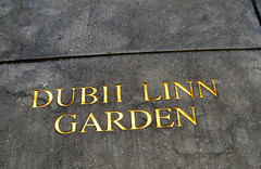 Dubh Linn Entrance (gisele13) Tags: ireland dublin december2006 dublingarden