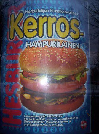 Comida finlandesa tradicional, que no creo que pueda aparecer en la guía michelin