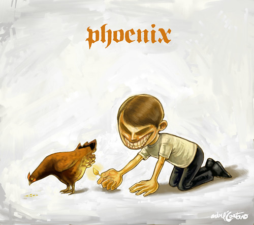 Illustration Friday - Phoenix