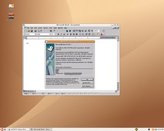 MS Word under Ubuntu Linux, via Wine