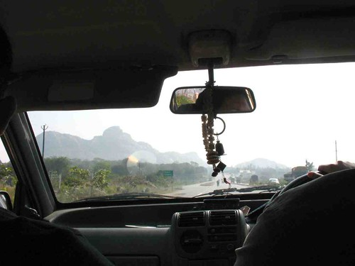 From the Car