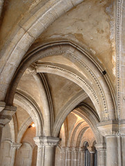 Bristol Cathedral Chapter House antechamber (archidave) Tags: uk england house abbey architecture bristol arch cathedral gothic pillar arcade entrance medieval norman vault romanesque chapter augustinian antechamber