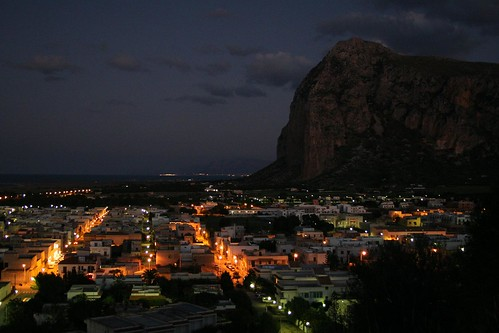 San Vito lo Capo at night