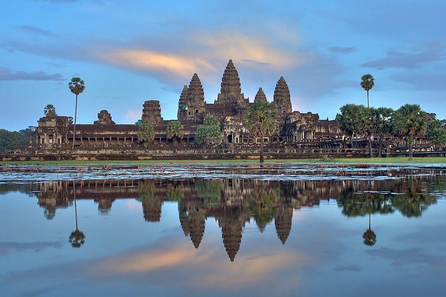 Angkor Wat Sunset HDR 3