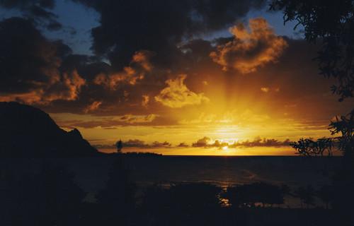 makana sunset