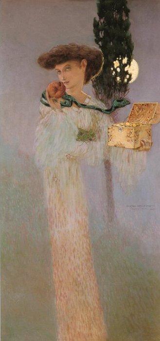 Gustave Adolphe Mossa, Eve Pandora, 1907
