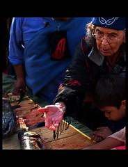 Tradition (Tim Ennis) Tags: canada youth tim bc indian ceremony salmon vancouverisland elder firstnations ennis aboriginal tribe indigenous cowichan salish globalspirit hulquminum timennis
