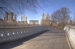 Puente en Central Park. Foto tomada por andyinnyc