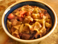 the worst picture of a really good stew ever