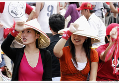 Girls just wanna have fun ii (*dans) Tags: rally protest taiwan 2006 taipei presidentialpalace  presidentialoffice girlsjustwannahavefun anticorruption 20060922   depose deposechen anticorruptionanddeposechen     kaitakelan onemillionpeopleagainstcorruption