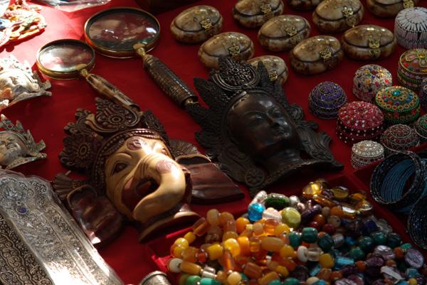 Goods in Anjuna